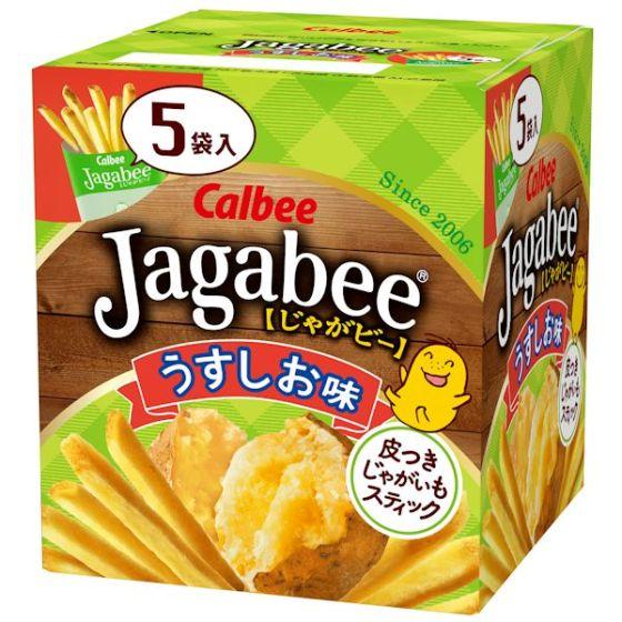 カルビー Jagabee うすしお味 80g