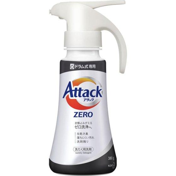 花王【ドラム式専用】アタックZERO(ゼロ)ワンハンドタイプ 380g