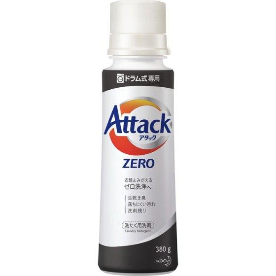 花王【ドラム式専用】アタックZERO(ゼロ)本体 380g