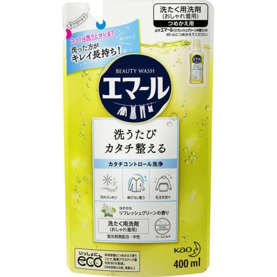花王 エマール リフレッシュグリーンの香り 詰替用 400ml