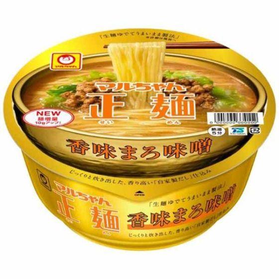 マルちゃん正麺 香味まろ味噌131g