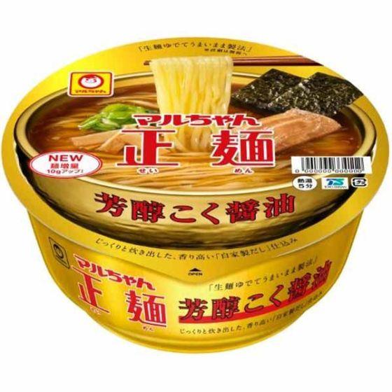 マルちゃん正麺 芳醇こく醤油119g