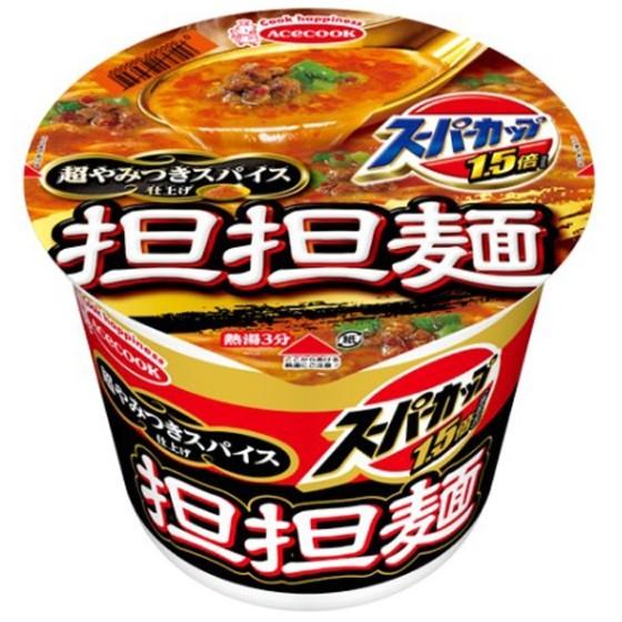 エース スーパーカップ担担麺124g