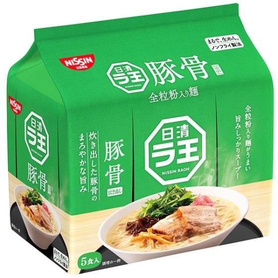 日清食品 ラ王 豚骨 5食パック