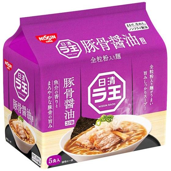 日清食品 ラ王豚骨醤油 5食パック