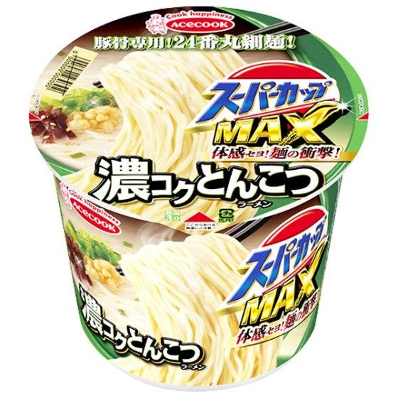 スーパーカップMAX とんこつラーメン 120g