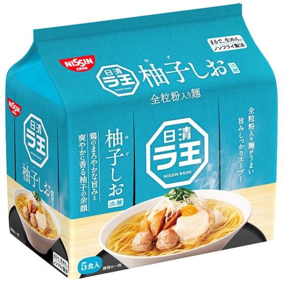日清食品 ラ王 柚子しお 5食パック