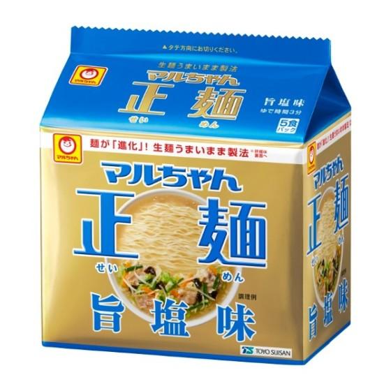 マルちゃん正麺旨塩味5食パック