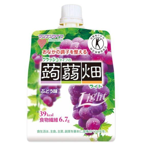 クラッシュタイプの蒟蒻畑ライト ぶどう味 150g(特定保健用食品)