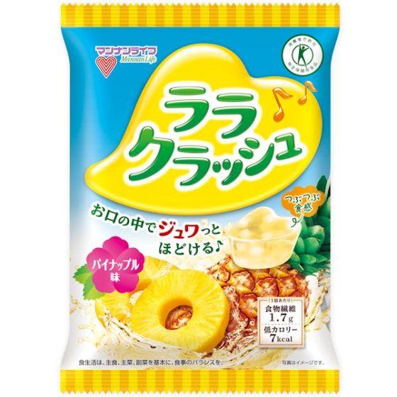 蒟蒻畑ララクラッシュ パイナップル 8個(特定保健用食品)