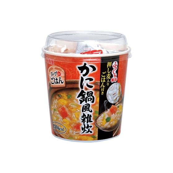 丸美屋 スープdeごはん(かに鍋雑炊)