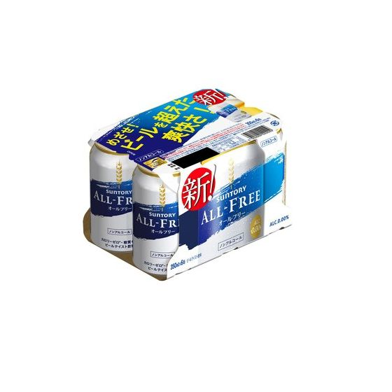 サントリー オールフリー350x6缶