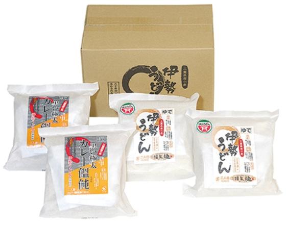 【麺フェア】伊勢うどん・カレーうどん詰合せ(三重)