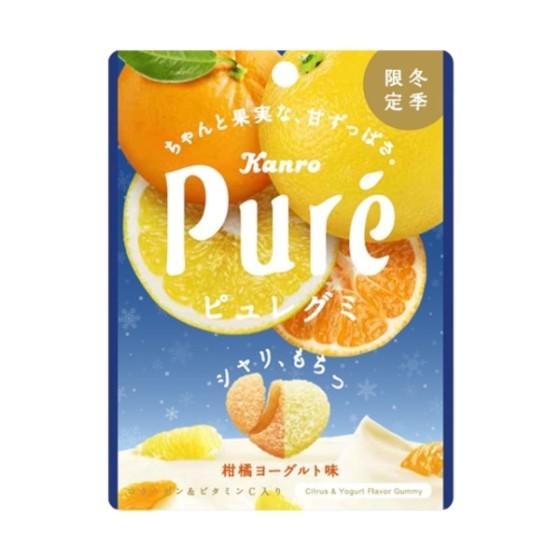 カンロ ピュレグミ 柑橘ヨーグルト味 56g