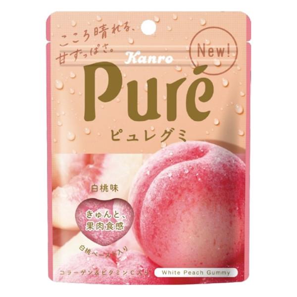 カンロ ピュレグミ 白桃味 56g