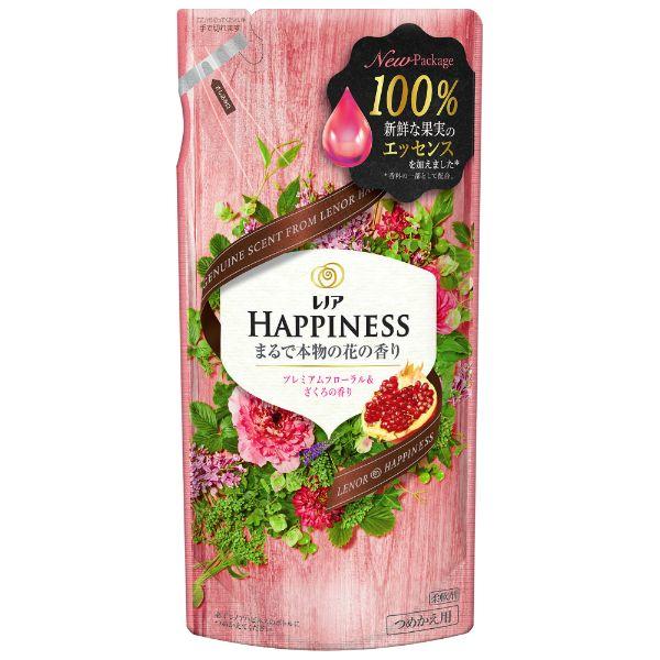 レノアハピネス ナチュラルフレグランス プレミアムフローラル&ざくろの香り つめかえ用 400ml