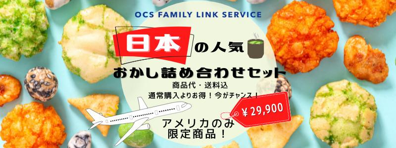 日本の人気おかし詰め合わせセット