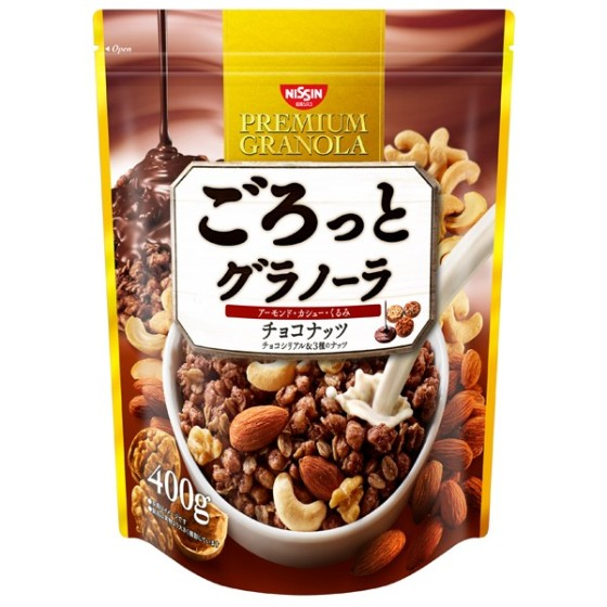 ごろっと グラノーラ チョコナッツ 400g