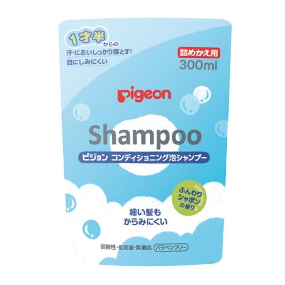 コンディショニング泡シャンプー シャボンの香り 詰めかえ用 300ml