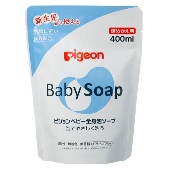 【0ヶ月頃~】全身泡ソープ 詰替用 400ml