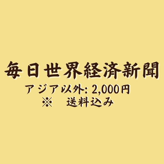 【アジア以外】毎日経済新聞 (ONE PIECE 100巻発売記念 タブロイド紙)