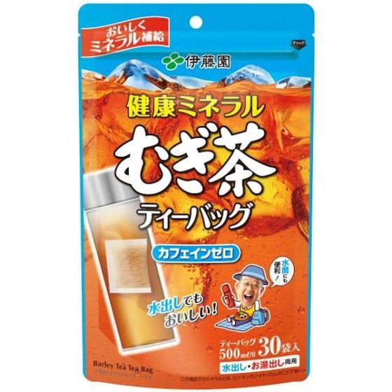 健康ミネラルむぎ茶ティーバッグ 3.8g×30P