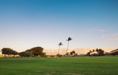 View to Maui Golf Course