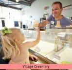 I scream, you scream, we all scream for ice cream at the ice cream shoppe!