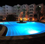 Heated Pool at night