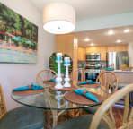 Cozy dining area.