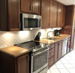 New Well Equipped Kitchen