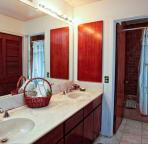 Condo has 2 1/2 baths. This is the en suite bath.