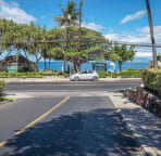 We're located directly across from Kamaole II beach! 3 min. walk from our door.