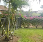 Private outside area by back lanai