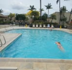 Front Pool - Good for Laps!
