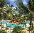 You have access to Kauai Beach Resort next door 4 pools 2 jacuzzi, poolside bar