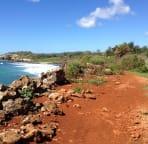A favorite hike of mine, along the coast from Shipwrecks Beach to Mahalapu Beach