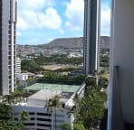 Back end of Diamond Head