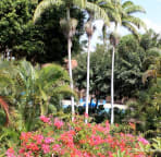 You can see your nearest swimming pool from the same side lanai.