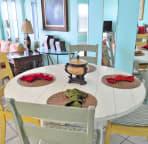 Dining area Cabana Club Unit 305