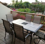 Large Main Lanai. Table Seats 6 with Comfortable Chairs