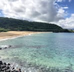 10 minutes of walking to Waimea Bay.