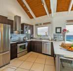 Modern chef's kitchen has everything!