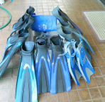 good selection of fins