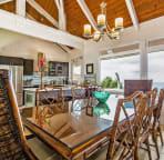 Gorgeous genuine Tommy Bahama Island Estate furniture throughout