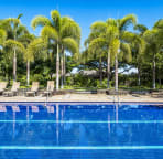 Another glistening shot of the quiet lap pool ideal for relaxing and quiet times!
