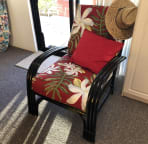 Vintage chair that I rehabbed!