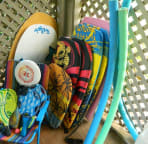 beach toys~we also have floaties and many sand toys for the wee ones!