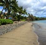 Beach walking south back to Blue Sky Villa