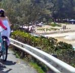 Biking in Kailua